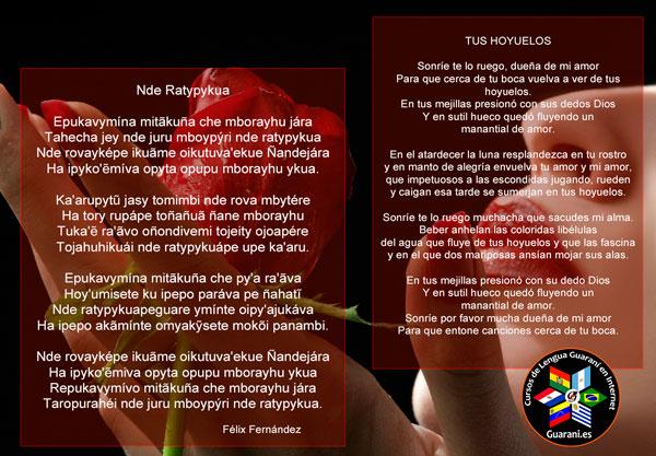 Poesia - Curso de Lengua Guaraní Online