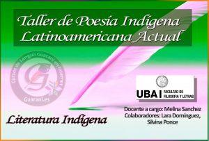 Taller de Poesía Indígena Latinoamericana Actual