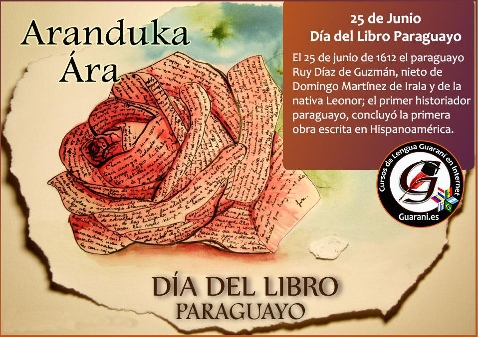 Día Del Libro Paraguayo Por Qué El 25 De Junio