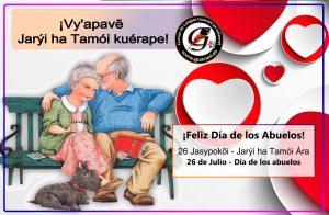 ¡Vy'apav? Jarýi ha Tamói kuérape! - Feliz Día de los Abuelos