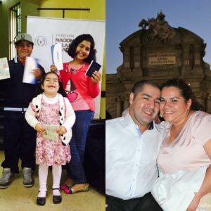 Hugo se reúne con su familia - foto de CEPA Paraguay