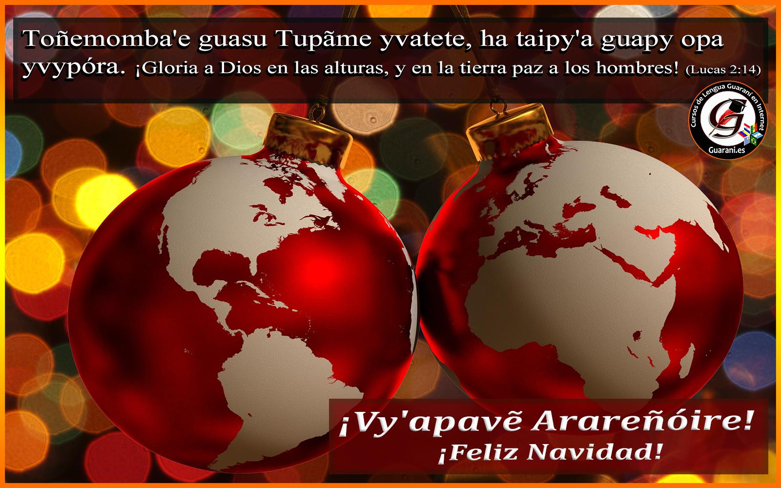Navidad en Guaraní – Postales Navideñas. – Plataforma e-Learning de Lengua Guaraní