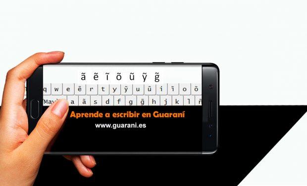 Teclado virtual Curso Guaraní